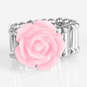 PRIME ROSE POPPER PINK RING